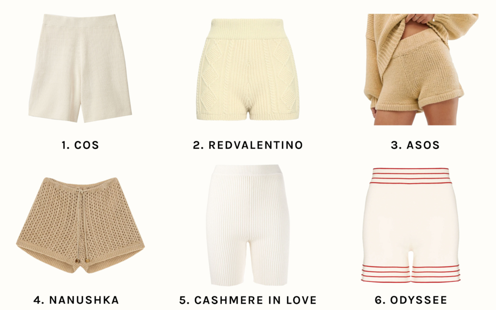 aimee_song_of_style_knit_shorts_shopping